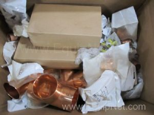 Lot of Approximately 100 Elkhart Assorted Copper Fitings