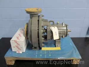 Unused Flowserve Polychem S Series Horizontal Single Stage Chemical Process Centrifugal Pump