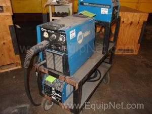 Miller Electric Mfg. Plasma Cutting Cart with Spectrom 3080 Plasma Cutter