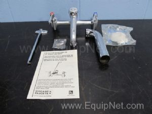 Chicago 897RCF Wall Mounted Service Sink Faucet Assembly