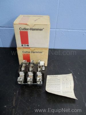 Lot of 2 Cutler Hammer C300FN3 Standard Trip Eutectic Overload Relays