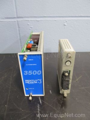 Bently Nevada 3500 Power Supply With AC Power Supply Module For Machinery Monitoring System