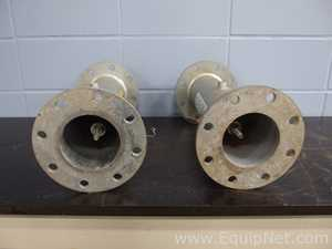 Lot of 2 4 Inch Relief Valves