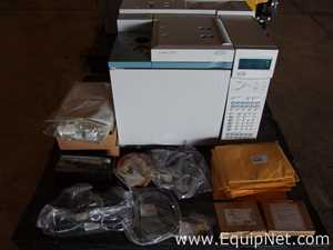 Agilent 6890A Gas Chromatograph with Thermal Conductivity Detector