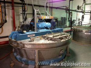 JH Day Nauta 1400 Gallon Mixing Vessel and Dryer
