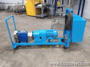 Waukesha 60 Rotary Lobe Positive Displacement Pump