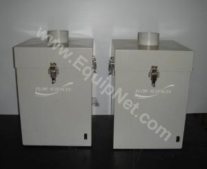 Lot of 2 Flow Sciences Air Box Blower Model FS4000SS