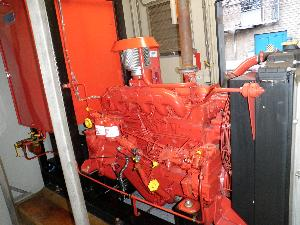 Diesel Powered Fire Protection System