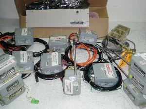 Assorted Humidity and Temperature Transmitters and Power Supply