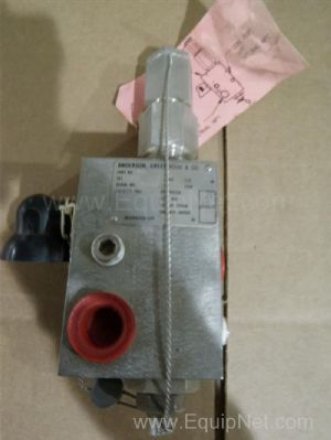 Anderson, Greenwood & Company 200 Pilot Valve