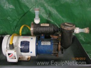 Sethco 342-LVEX Magnetic Drive Seal less HCL Transfer Pump