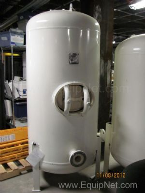 Manchester In.  320 Gallon Epoxy Lined Compressed Air Tank