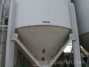 United States Systems 18 Cubic Meter Silo with Rotary Valve and Slide Gate