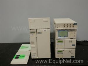 Lot of 6 Shimadzu HPLC Components
