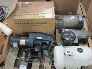 Lot of (7)Assorted Misc. Motors Including Clamp On Agitator