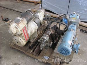 Lot of (3)Misc. Pumps Waukesha And Various On Pallet