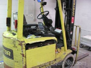 Hyster Model 45 Electric Fork Lift W/Battery Charger