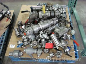 1 Lot of Miscellaneous Ball Valves & Pneumatic Butterfly Valves