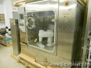 Cellmate Automation Bioculture media Sterile Robotic Roller Jar Pick n Place system