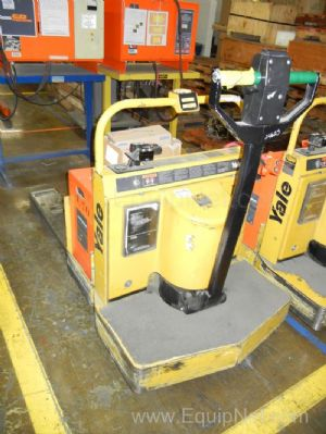 Yale Electric Walk Behind Type ''E'' Pallet Jack with Charger