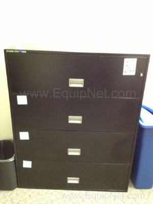 Lot of (2) Multi-Drawer File Cabinets