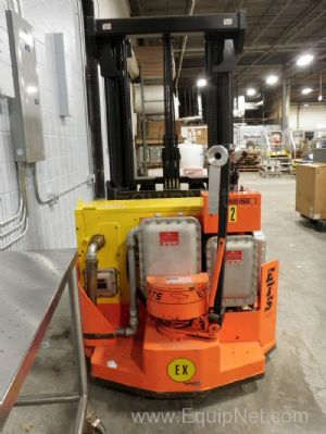 Deka Explosion Proof Non-Ride Forklift Model WREX30 with Battery Charger