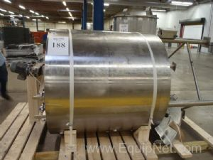 Walker 400 Gallon Stainless Steel Jacketed Mix Vessel #300