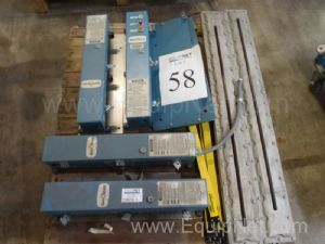One (1) Lot of Safe Scan and Banner Miocro Screen Safety Curtains