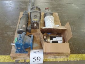 Lot Of Pump, Motors, Gear Boxes