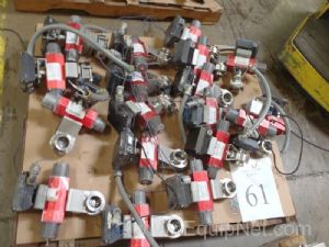 Lot of (18) RC 20 SR remote control valves