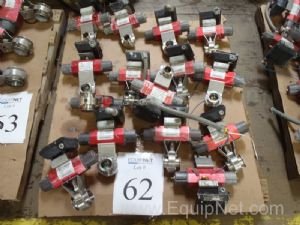 Lot of(12) RC 20 - SR  Remote Controle Valves