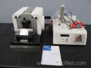 Leica MT 920 Microtome with Leica EM Stainer
