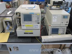 Waters 600 Series HPLC 717 Sampler with 2487 Absorbance Detector