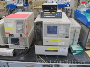 Waters 600 Series HPLC 717 Sampler with 486 Tunable Absorbance Detector