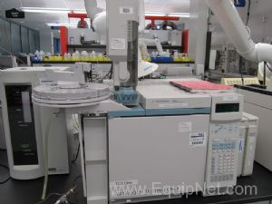 Agilent 6890N Gas Chromatograph With Single FID Detector