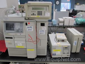 Waters 2695 HPLC With Waters 2410 Refractive Index and Perkin Elmer 785 UVVis Detectors