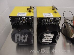 2 Watson Marlow Air Operated Peristaltic Pumps