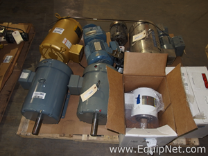 Lot of Approximately 10 Motors