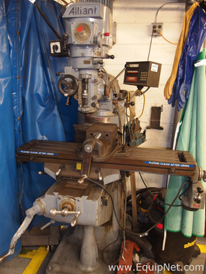 Alliant 1 1|2 TMV Vertical Milling Machine