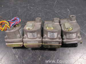 Lot of 4 Barksdale Control Actuated Switches