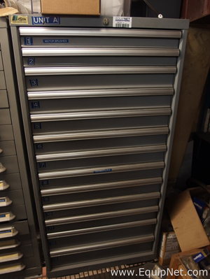 Lista 13 Drawer Tool Cabinet with Various MRO