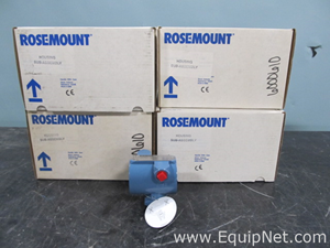 Lot of 5 Rosemount 344C Sub Assembly Housing Temperature Transmitters
