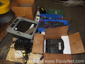 Pallet of Miscellaneous Plant Equipment