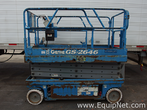 Genie GS-2646 Mobile Scissor Lift
