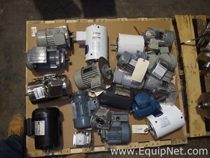 Pallet of Approximately 17 Assorted Motors