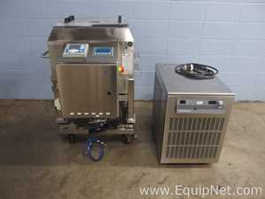 GE Healthcare Xcellerex Duo-100L Stainless Steel Single Use Mixing System with PolyScience Chiller