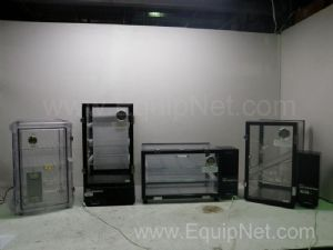 Lot of 4 Dessiator Cabinets