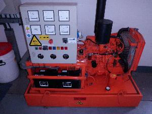 Mitsubishi Diesel Powered Backup Electricity Generator manufactured in 2004