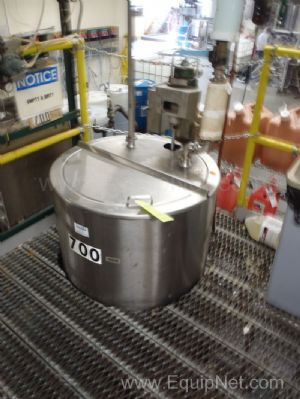 Lee Industries 100 Gallon Jacketed Mixing Kettle - #700