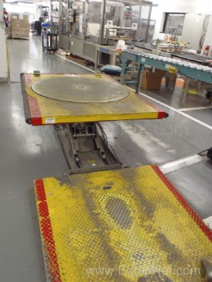 Hydraulic Pallet Positioner with Ramp